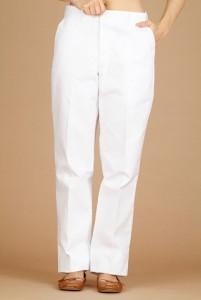 Pantalon de cuisinier avec fermoiroir